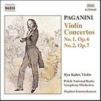 Paganini, Niccolo: Violin concertos 1 & 2
