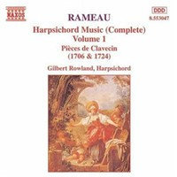 Rameau, Jean-Philippe: Harpsichord music vol 1