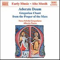 V/A: Adorate deum / gregorian chant from the proper of the mass