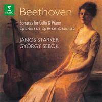 Starker, János: Beethoven: the cello sonatas