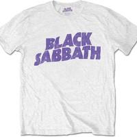 Black Sabbath: Wavy Logo Vintage