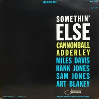 Adderley, Cannonball: Somethin' Else