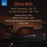 Brahms, Johannes: Violin concerto; double concerto