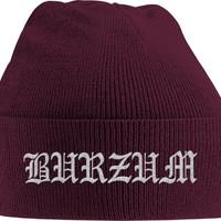 Burzum: Grey logo (embroidered)