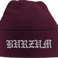Burzum: Grey logo (embroidered)