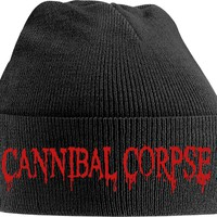 Cannibal Corpse: Red logo (embroidered)