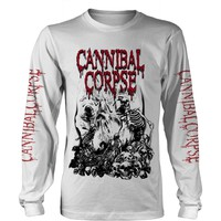 Cannibal Corpse: Pile of skulls 2018 (white)