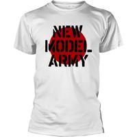 New Model Army: Logo (white)