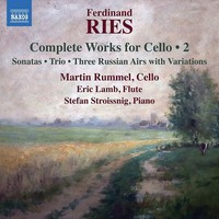Rummel, Martin: Complete works for cello, vol. 2