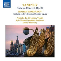Kiev Virtuosi Symphony Orchestra: Suite de concert; fantasia on two russian themes