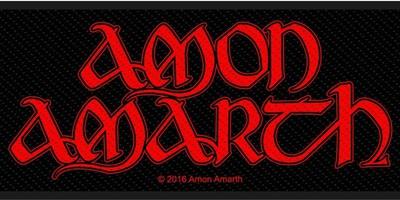 Amon Amarth: Red logo