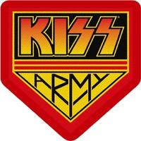 Kiss: Kiss army badge