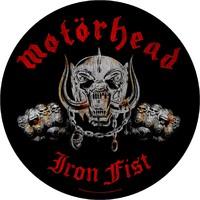 Motörhead: Iron fist (backpatch)