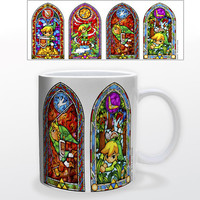 Nintendo: Zelda Stained Glass