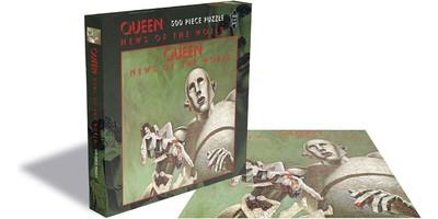 QUEEN News of the world XLG Back Patch