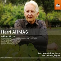 Ahmas, Harri: Organ music