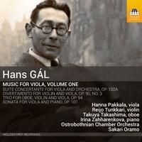 Ostrobothnian Chamber Orchestra: Music for viola, vol. 1