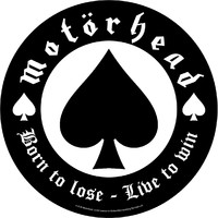 Motörhead: Born to lose (backpatch)