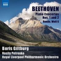 Beethoven, Ludwig van: Piano concertos nos. 1 & 2