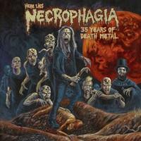Necrophagia: Here Lies NECROPHAGIA; 35 Years of Death Metal
