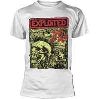 Exploited: Punks not dead (white)