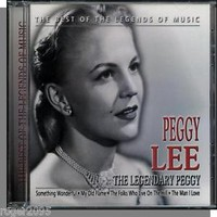 Lee, Peggy: Legendary Peggy Lee