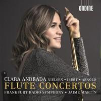 Andrada, Clara: Flute concertos