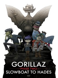 Gorillaz: Phase Two - Slowboat to Hades -dvd+cd