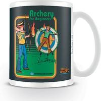 Steven Rhodes: Archery for beginners (mug)