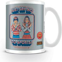 Steven Rhodes: Say no to sports (mug)