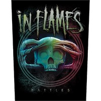 In Flames: Battles (backpatch)