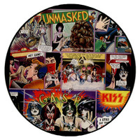 Kiss: Unmasked - Picture Disc