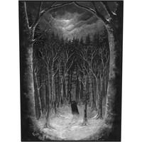 Paysage d'Hiver : Im Wald