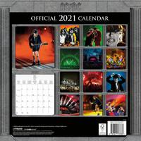 AC/DC: Ac/dc official 2021 calendar