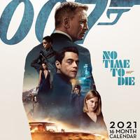 James Bond: James bond no time to die official 2021 calendar