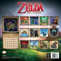 Legend Of Zelda: The legend of zelda official 2021 calendar