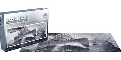 Bellica: Convoy attack (1000 piece jigsaw puzzle)