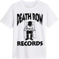 Death Row Records: Death row records logo (white)