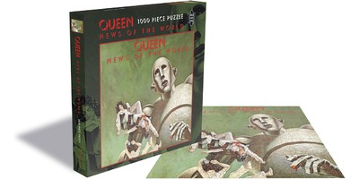 Queen: News of the world (1000 piece jigsaw puzzle)