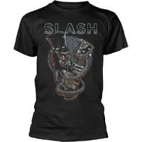 Slash: Skull guitar snake