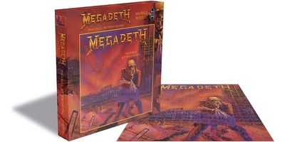 Megadeth: Peace sells...but who's buying? (500 piece jigsaw puzzle)