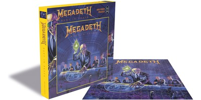 Megadeth: Rust in peace (500 piece jigsaw puzzle)