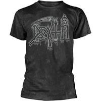 Death: Silver logo (black)