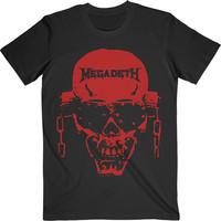 Megadeth: Vic Hi-Contrast Red
