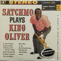 Armstrong, Louis: Satchmo Plays King Oliver