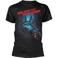 Escape From New York: Movie poster (black)