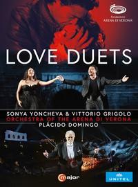 V/A: Love duets: sonya yoncheva & vittorio grigolo at arena di verona (dvd)