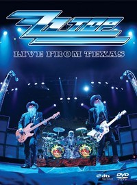 Zz Top: Live from Texas -dvd+cd
